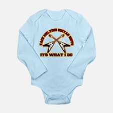 FACE MELTING FLYING V Long Sleeve Infant Bodysuit