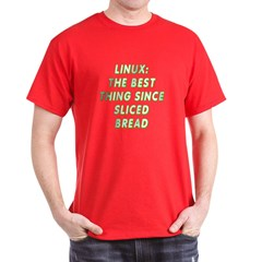 Linux: Sliced bread T-Shirt