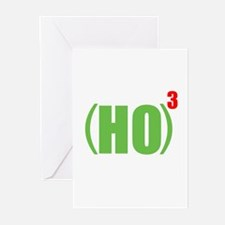 HO HO HO Greeting Cards (Pk of 20)