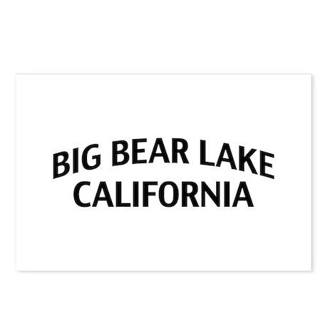 Big Bear Lake California Postcards (Package of 8)