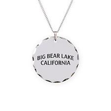 Big Bear Lake California Necklace