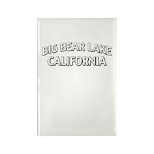 Big Bear Lake California Rectangle Magnet