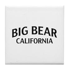 Big Bear California Tile Coaster
