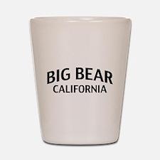 Big Bear California Shot Glass