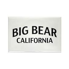 Big Bear California Rectangle Magnet