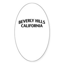 Beverly Hills California Decal