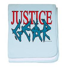 Justice Gear baby blanket
