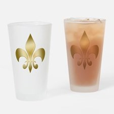 New Orleans Fleur Drinking Glass