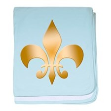 New Orleans Fleur baby blanket