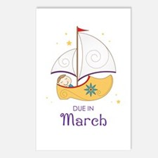 Land of Nod March Postcards (Package of 8)