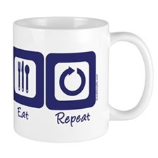 Sleep- Surf- Eat- Repeat Mug