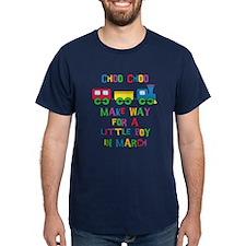 Train Due March T-Shirt