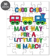 Train Due March Puzzle