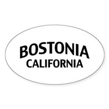 Bostonia California Decal