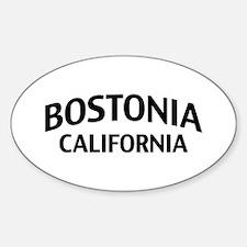 Bostonia California Decal