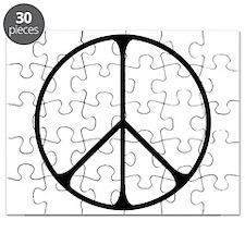 Elegant Peace Sign Puzzle