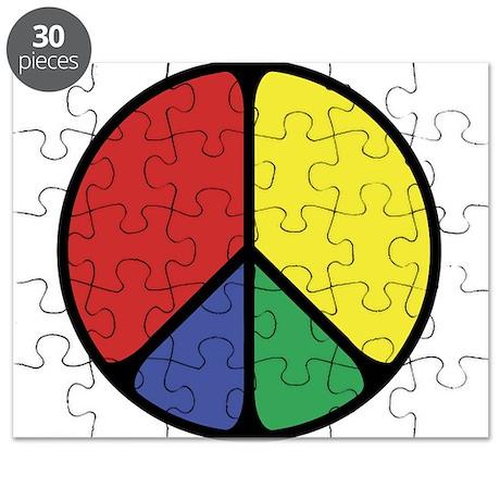 Elegant Peace Color Puzzle