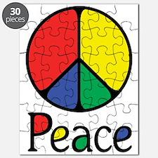 Emphatic Peace Colours Puzzle