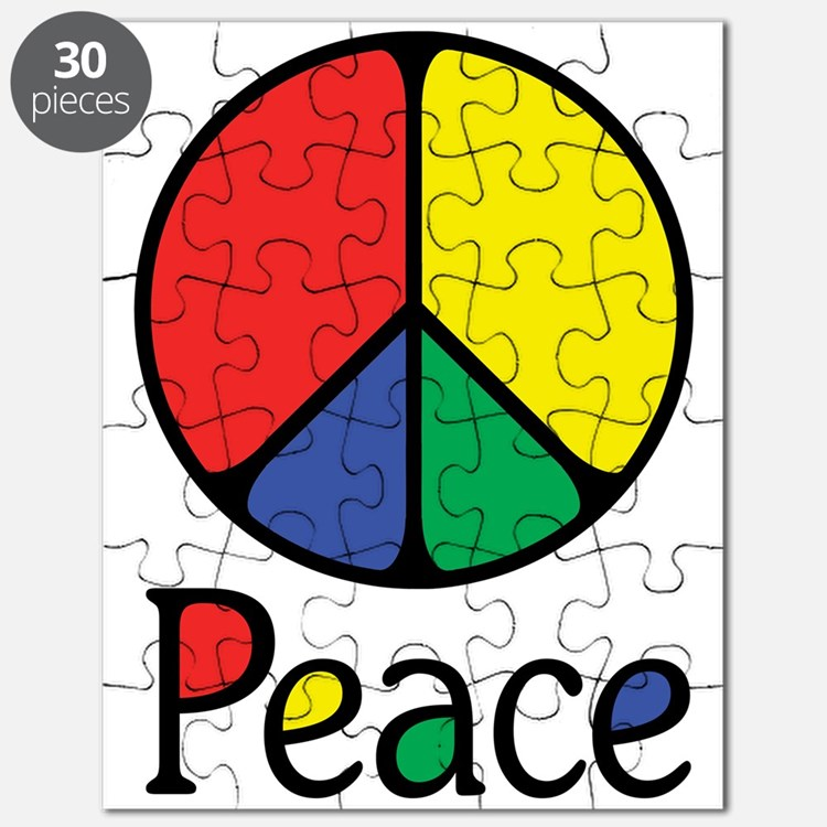 Emphatic Peace Colours Puzzle