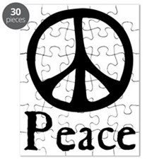 Flowing 'Peace' Sign Puzzle