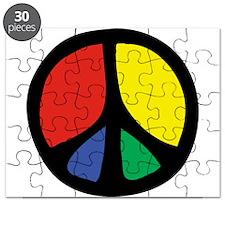 Flowing Peace Color Puzzle