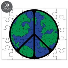 Global Peace Sign Puzzle