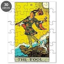 The Fool Tarot Card Puzzle