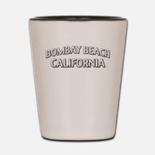 Bombay Beach California Shot Glass