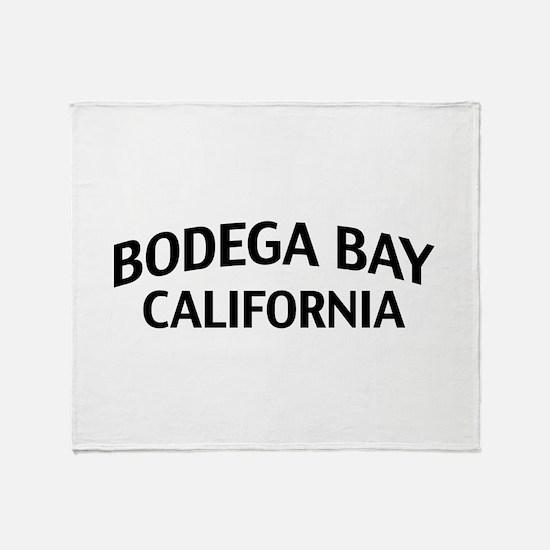 Bodega Bay California Throw Blanket