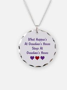 Grandma's House Necklace