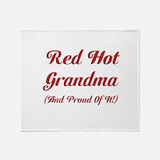 Hot Grandma Throw Blanket