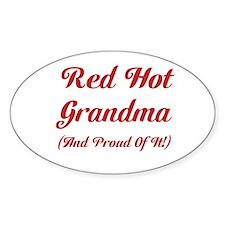 Hot Grandma Decal