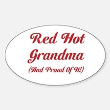 Hot Grandma Decal