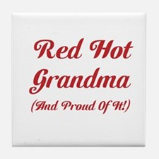 Hot Grandma Tile Coaster