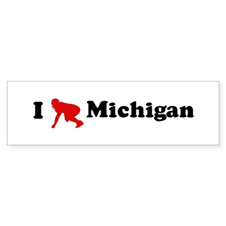 Michigan Football Bumper Sticker