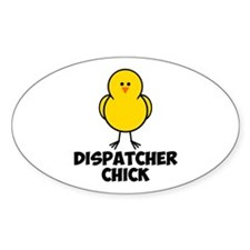 Dispatcher Chick Decal