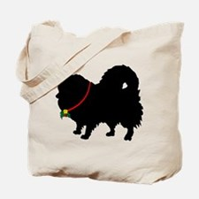 Christmas or Holiday Pomerani Tote Bag