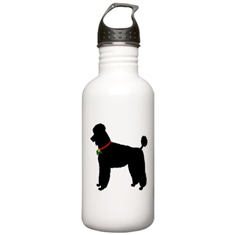 Poodle Silhouette Stainless Water Bottle 1.0L
