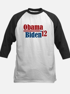 Obama Biden 2012 Kids Baseball Jersey