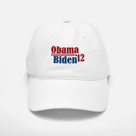 Obama Biden 2012 Baseball Baseball Cap