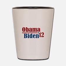 Obama Biden 2012 Shot Glass