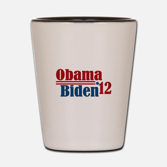 Obama Biden 2012 Shot Glass