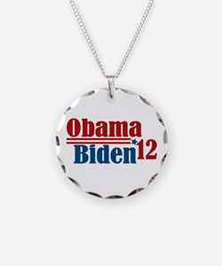 Obama Biden 2012 Necklace