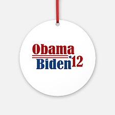 Obama Biden 2012 Ornament (Round)