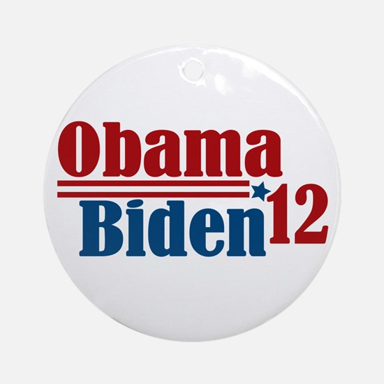 Obama Biden 2012 Ornament (Round)