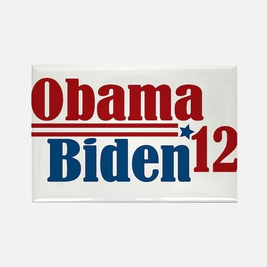 Obama Biden 2012 Rectangle Magnet