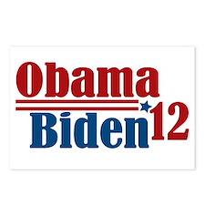 Obama Biden 2012 Postcards (Package of 8)