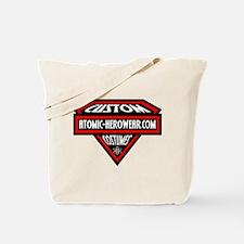 Atomic Hero Wear Logo Tote Bag