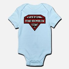 Atomic Hero Wear Logo Infant Bodysuit
