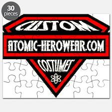 Atomic Hero Wear Logo Puzzle